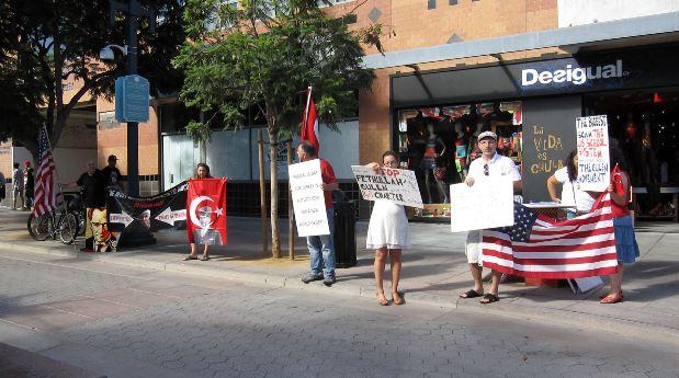 Gulen Santa Monica Protest