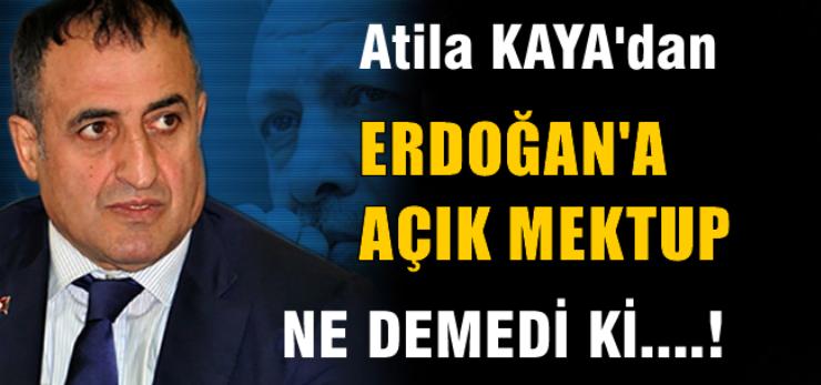 Erdoğan'a Açık Mektup