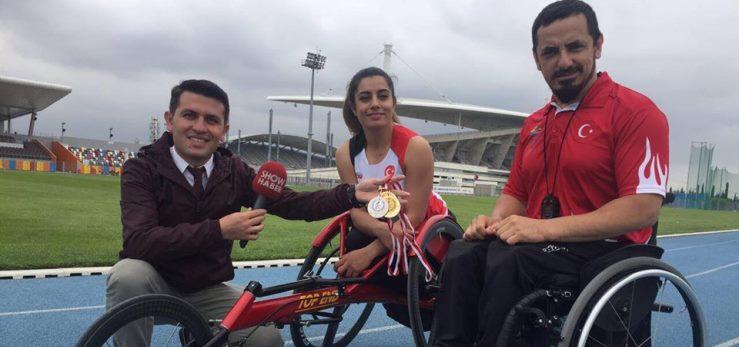 Paralimpik Atlet Milli Sporcu Tuğçe Akgün